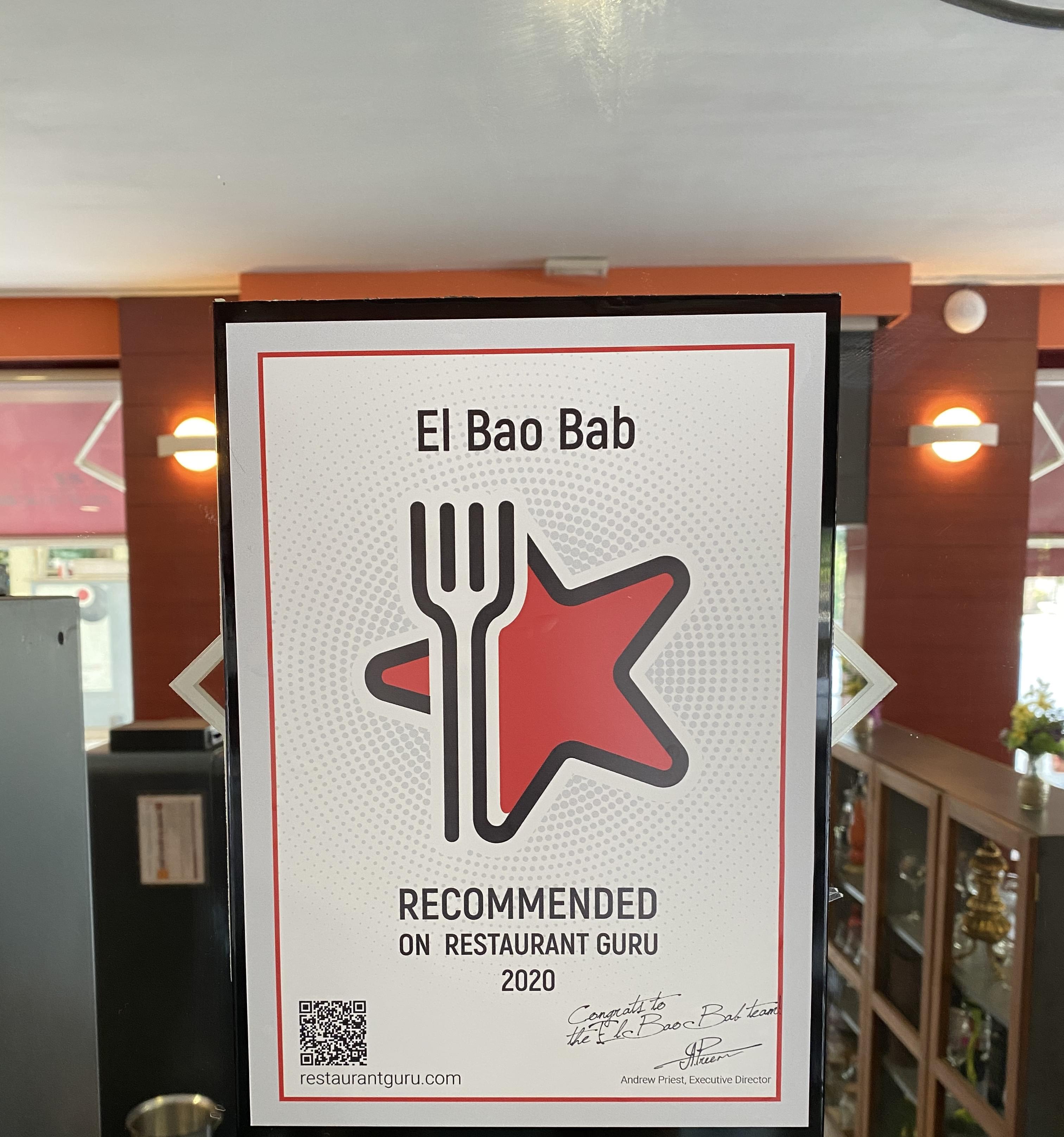 El Bao Bab award