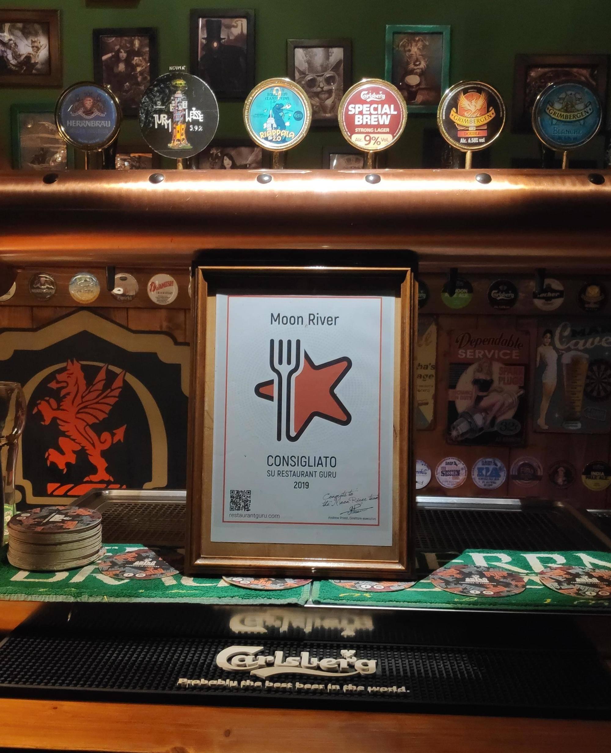 Moon River Pub award