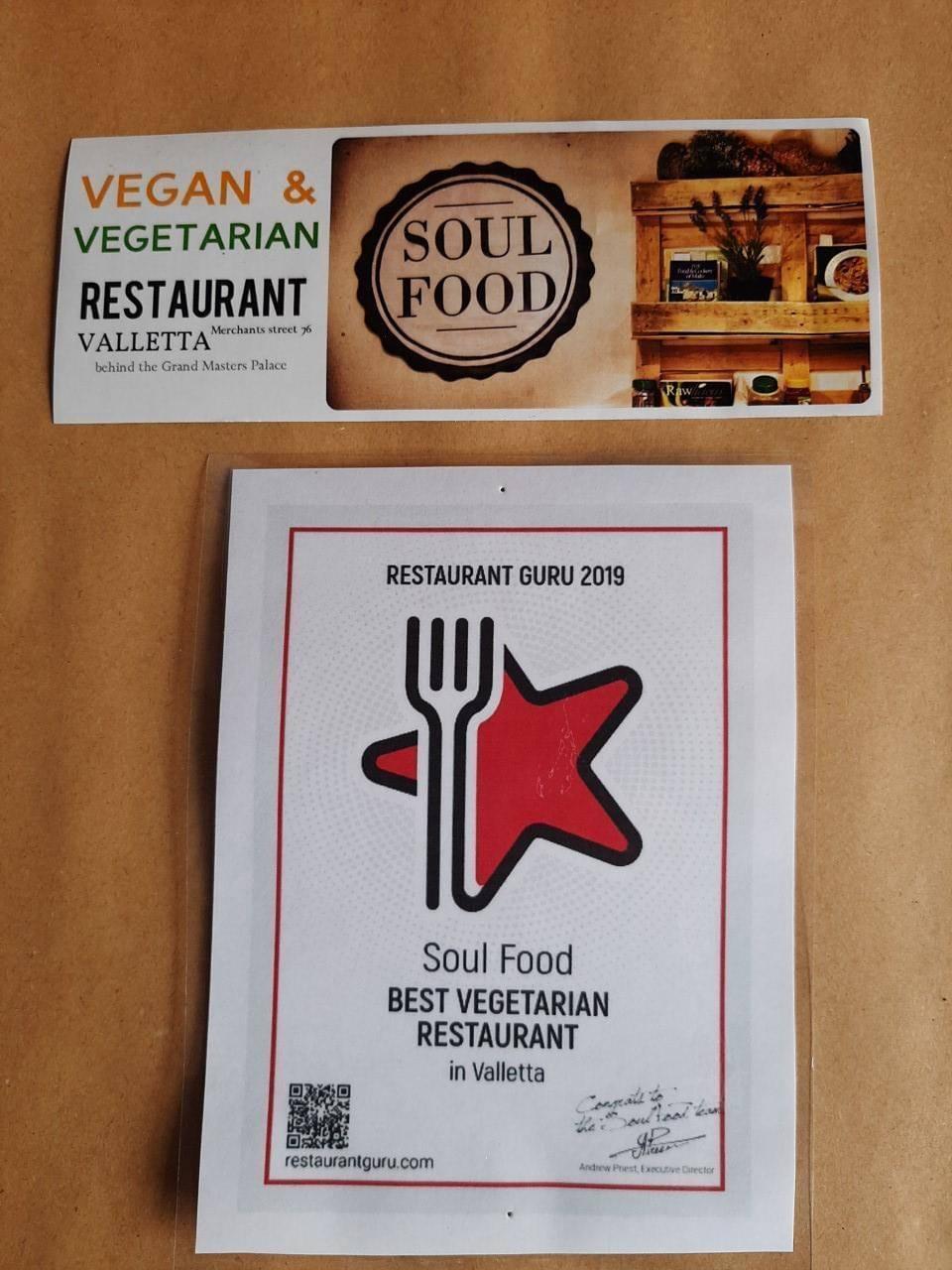 Soul Food award