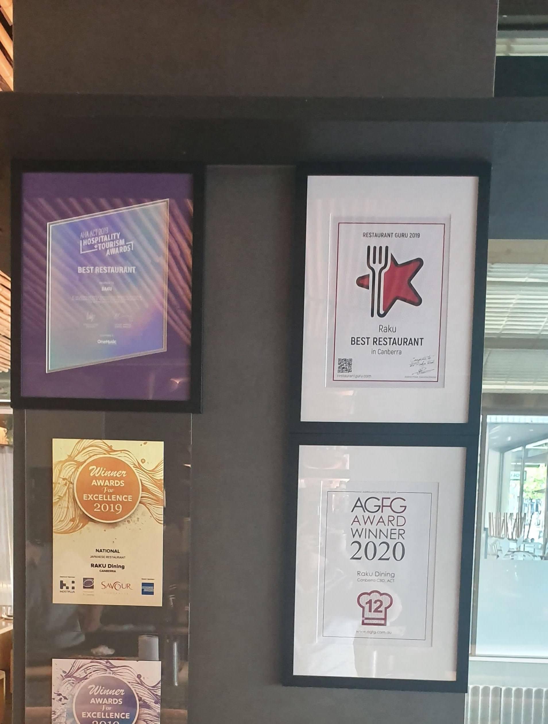 Raku award